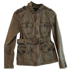 Sanctuary Clothing Olive Green Jacket
